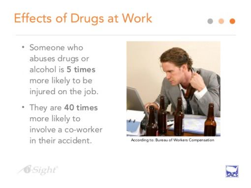 workplace substance abuse image