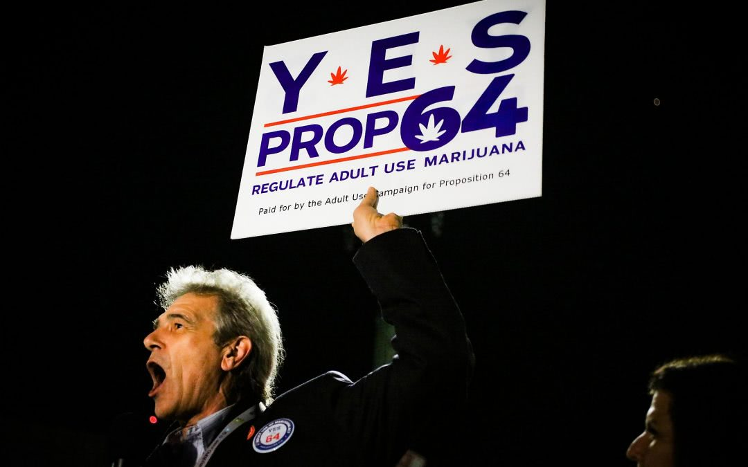 Prop 64 – California Approves Recreational Use of Marijuana