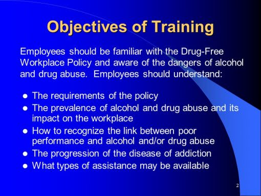 drug education image