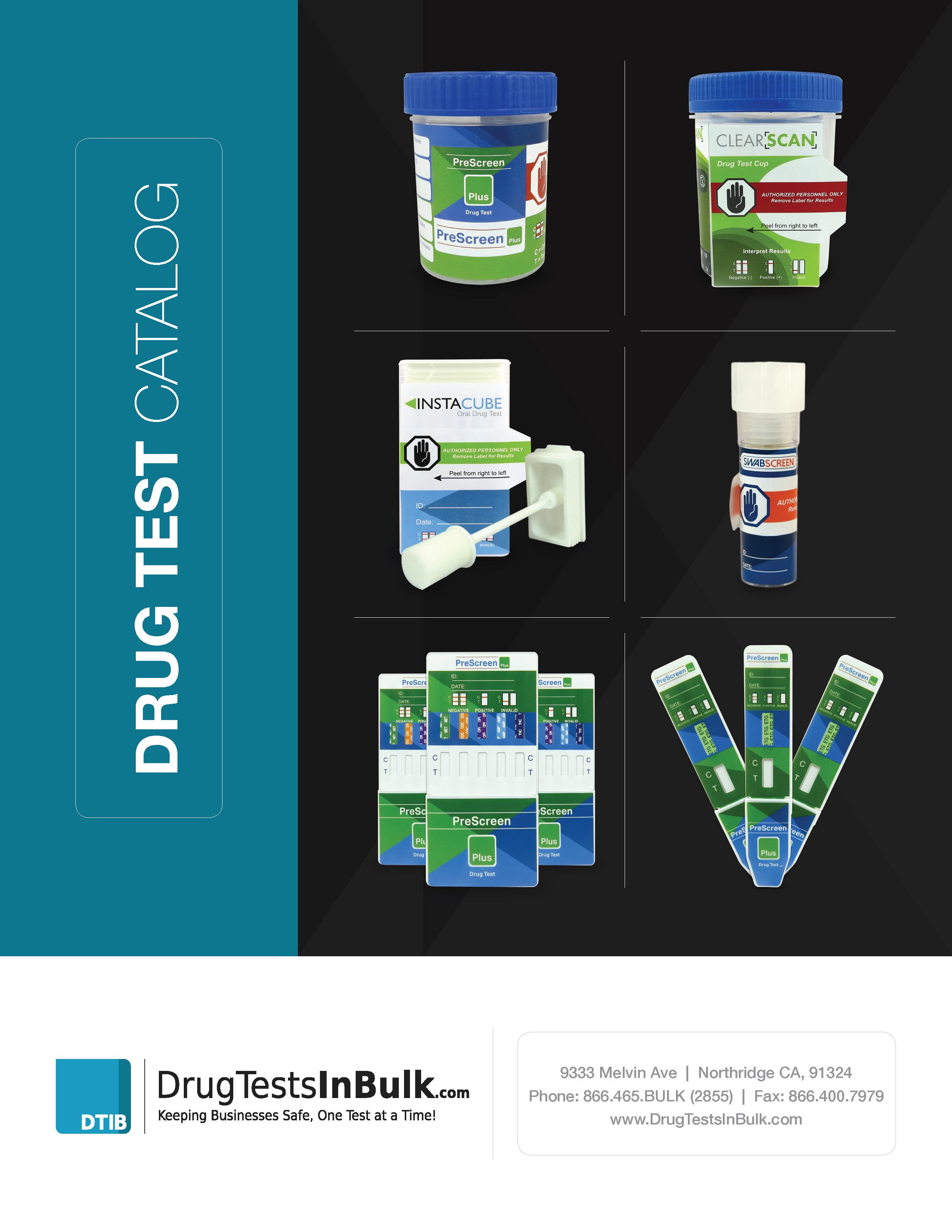 DrugTestsInBulk.com Catalog